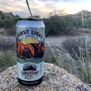 Lumber Yard First Light Lager